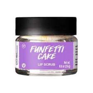 "LUSH ""Funfetti Cake"" Lip Scrub 0.8 oz. VEGAN"